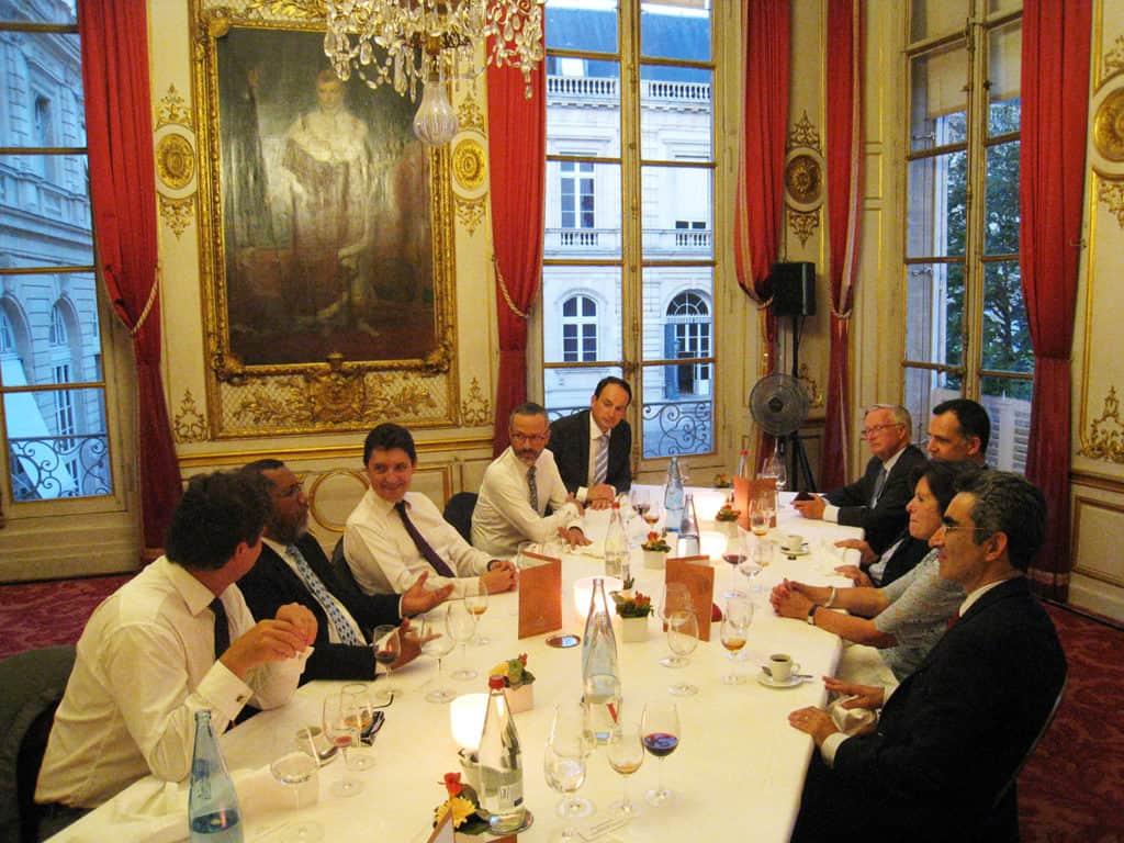 Napoleon Room Table Discussion