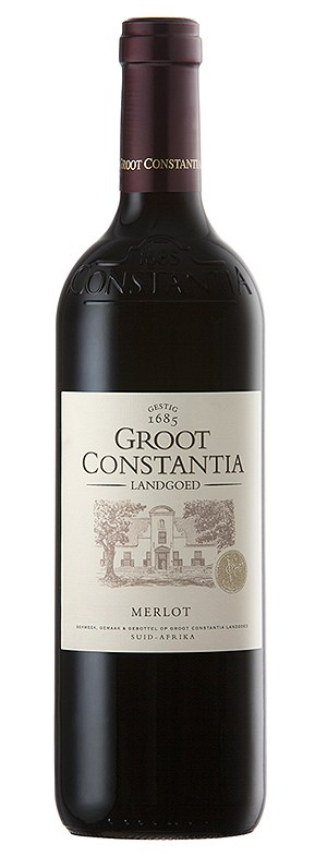 Groot Constantia Merlot wine